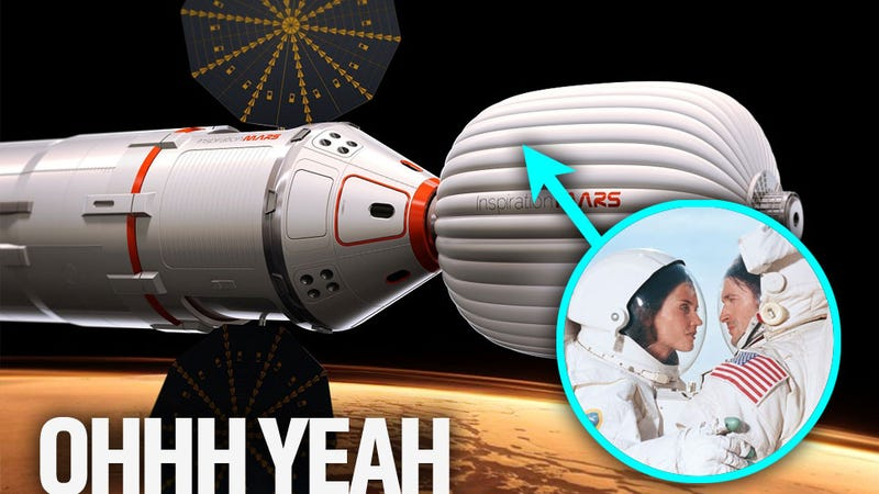 Illustration for article titled The Other Firsts No One's Talking About For The Proposed 2018 Mars Flyby Mission