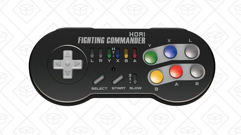 HORI SNES Classic Fighting Commander gamepad, $25