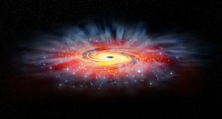 """Científicos: podría existir un """"agujero de gusano"""" en nuestra galaxia"""