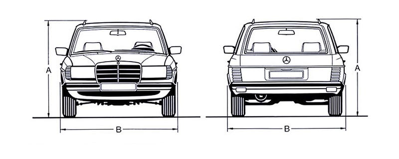 Illustration for article titled Racing help!!! W123 300TD