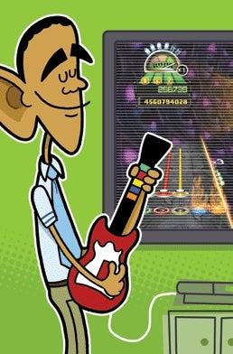 Illustration for article titled Team Obama Endorses Rock Band