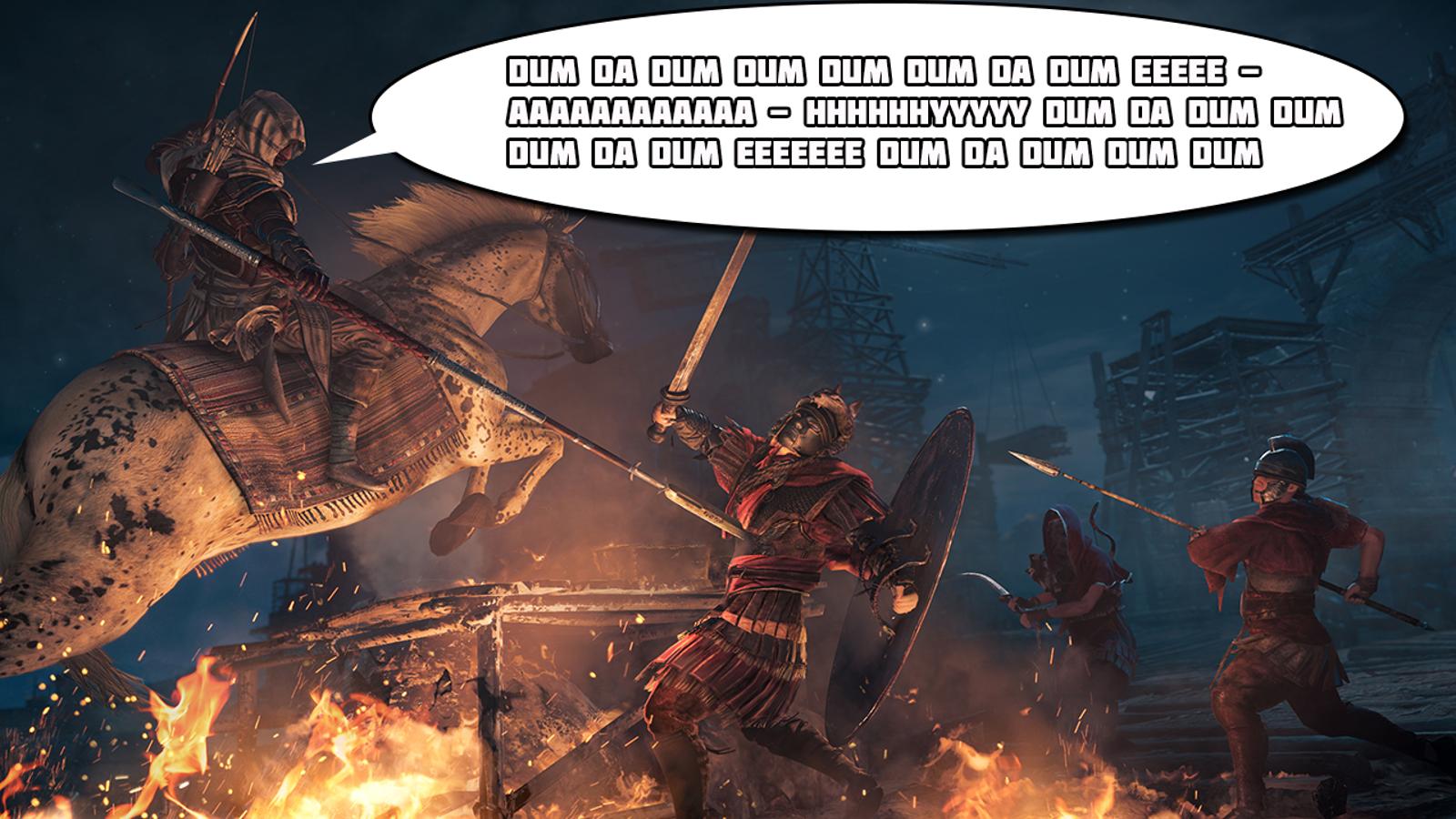 Assassin's Creed Origins Composer Posts Unreleased Tracks
