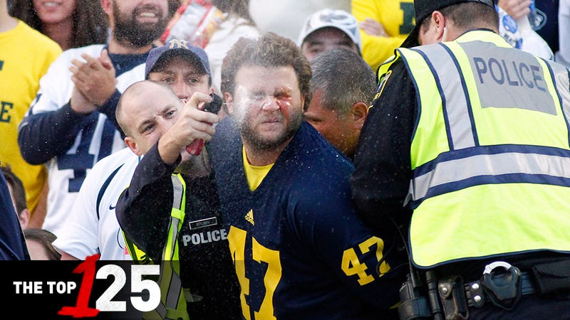 Illustration for article titled Michigan Gets Maced And Kicked In The Balls: 125 FBS Teams, Ranked