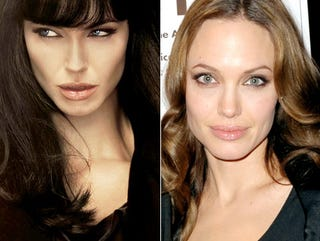 Illustration for article titled Photoshop Of Horrors: Angelina's Face Just Not Good Enough For Salt