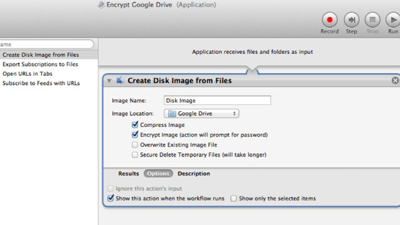 Drag-and-Drop To Automatically Encrypt Files in Google Drive Using