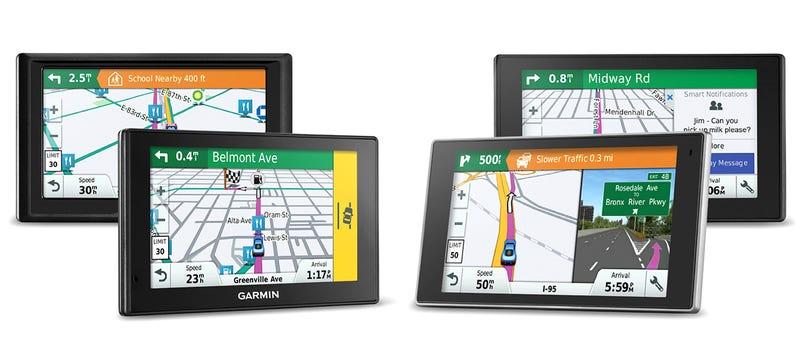 Illustration for article titled Garmin's New Sat Navs Can Spot Hazards on the Road Before You Do