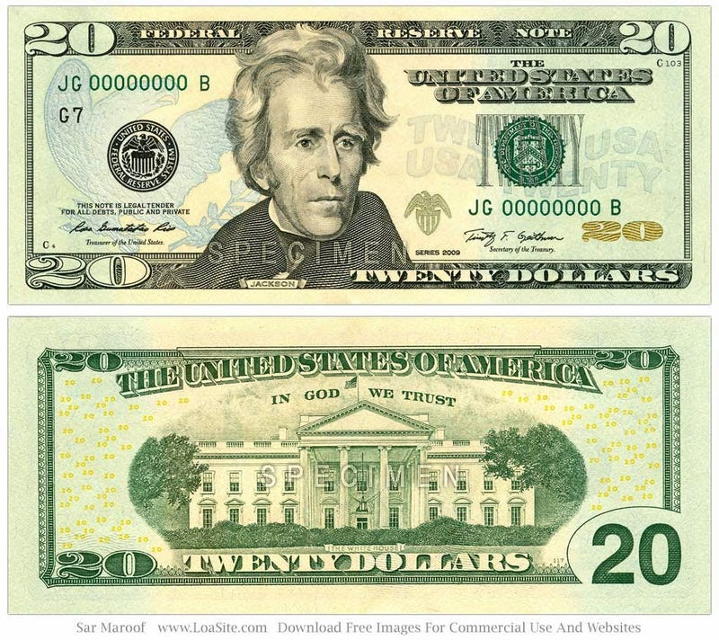 should andrew jackson be on the 20 dollar bill essay Debate about does andrew jackson deserve to be on the 20 andrew jackson should not be on the 20 dollar andrew jackson should be in the $20 bill.