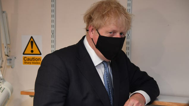 Boris Johnson Calls Anti-Vaxxers  Nuts  as He Belatedly Implements UK Mask Mandate