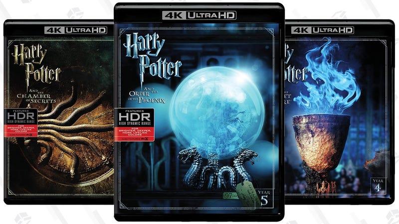 Harry Potter 4K Blu-rays | $20 Each | Walmart