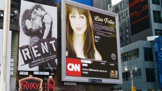 Illustration for article titled Kotaku Gets Some Face Time on Times Square Billboard
