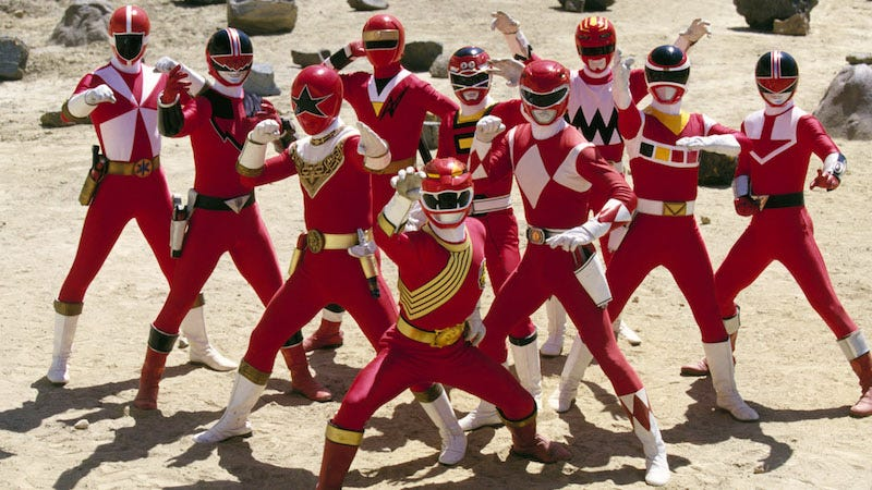 23 Years of Power Rangers Uniforms, Ranked (Part One)