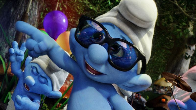 Illustration for article titled The Smurfs 2
