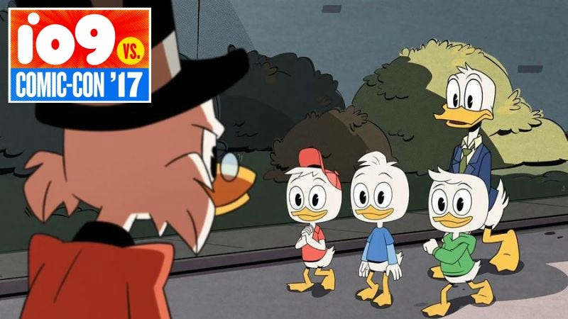 Illustration for article titled DuckTales Had Everything That Makes Comic-Con Worth Going To