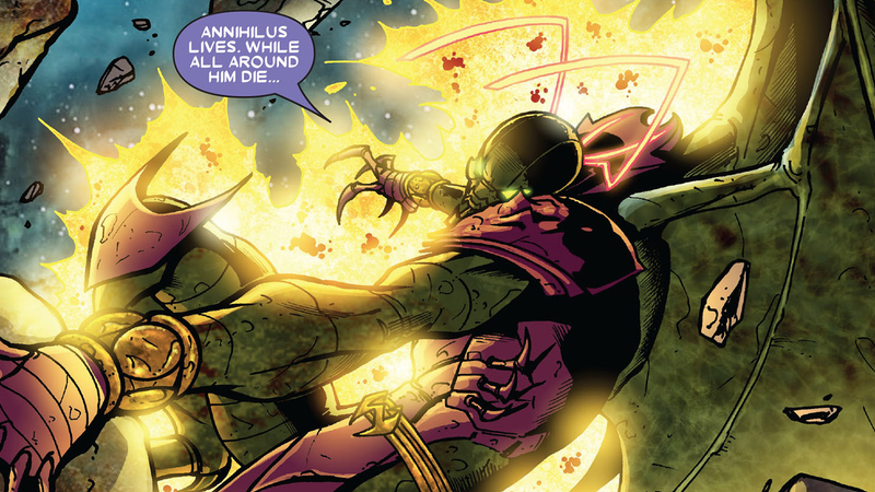 Annihilus introducing himself to some folks.
