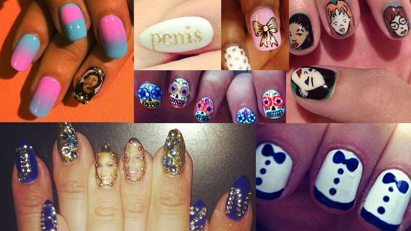 The best nail art of 2012 whether it was celebrities on the red carpet olympic athletes or in various social networking feeds nail art was everywhere this year prinsesfo Gallery