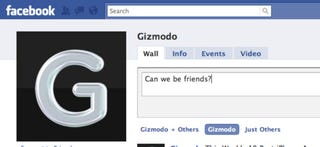 Illustration for article titled Let's Be Best Friends on Facebook!
