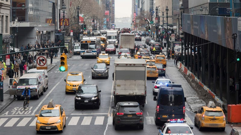 Illustration for article titled Surprise: Tons of New York Drivers Are Trying to Get Out of Congestion Pricing