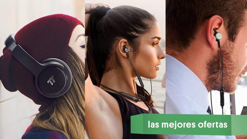 Auriculares Taotronics 'over-ear' con cancelación de ruido | $40 | Amazon | Usa el código KINJAV02Auriculares Taotronics con banda para el cuello y cancelación de ruido | $33 | Amazon| Usa el código KINJA297Auriculares Taotronics con cancelación de ruido y cable | $23 | Amazon | Usa el código KINJAL69Gráfico: Shep McAllister