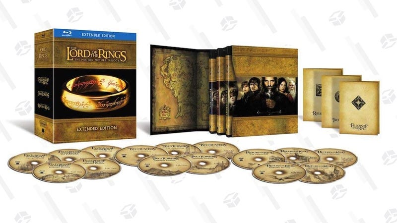 The Lord of the Rings: The Extended Motion Picture Trilogy | $44 | Amazon