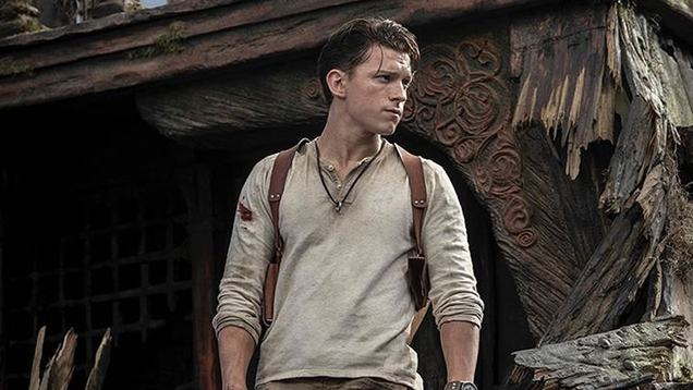 Nathan Drake Looks at Nathan Drake in the First Pictures of Sony s Uncharted Movie [Updated]