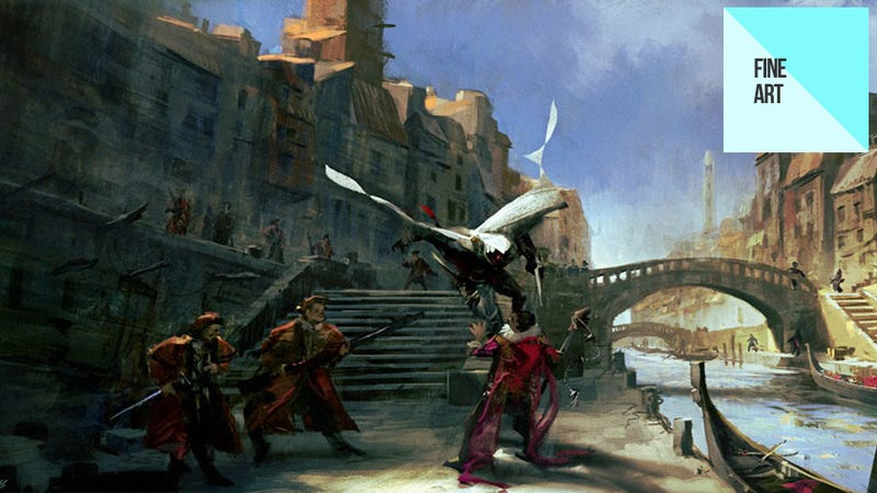 Illustration for article titled The Beautiful, If Stabby Art of the Assassin's Creed Series