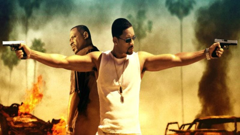 All Will Smith had to do to make Bad Boys 3 happen was turn around