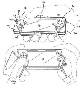 Illustration for article titled Nokia Patent Shows N-Gage Revamp?