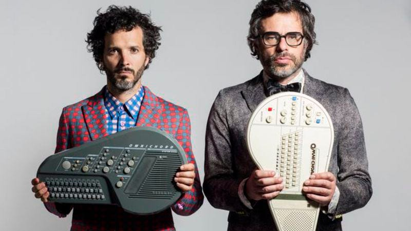 Illustration for article titled Flight Of The Conchords tour adds John Hodgman, Eugene Mirman, and more
