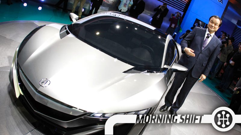 Illustration for article titled Father Of The NSX Will Miss Debut Thanks To Recall Mess