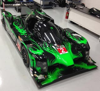 Illustration for article titled Patron ESM's livery for the ARX-04b is green and crazy