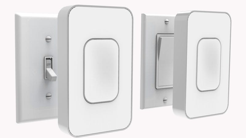 Illustration for article titled These Smart Light Switches Require Zero Wiring