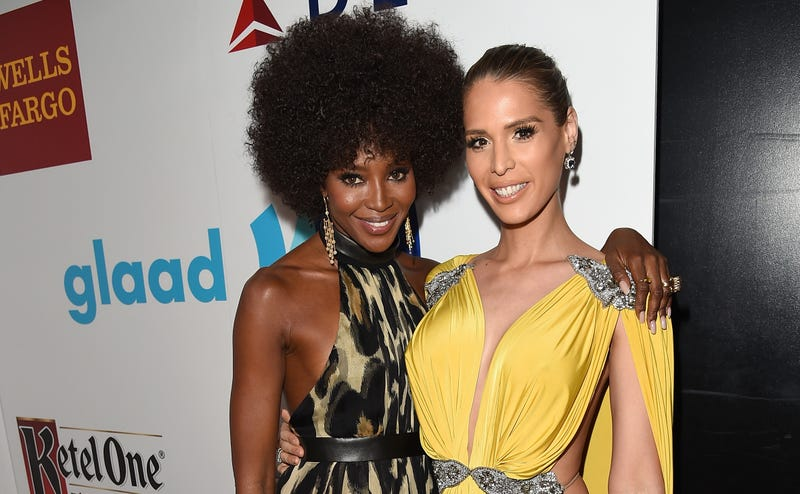 Illustration for article titled Carmen Carrera Gets Shout Out From Naomi Campbell at GLAAD Awards