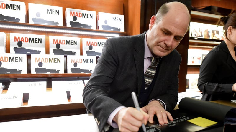 Illustration for article titled Matthew Weiner Says He Doesn't Remember Sexually Harassing Mad Men Writer