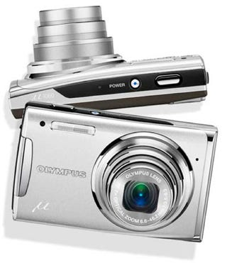 Illustration for article titled Olympus Adds to Mju Range of Digital Cams with Mju 1060