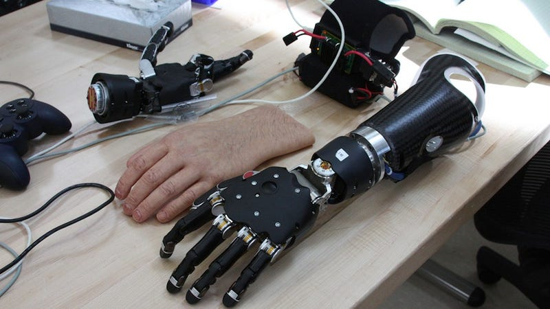 Illustration for article titled A Major Breakthrough in Bringing the Sense of Touch to Prosthetic Limbs