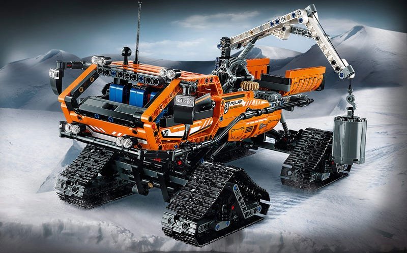 Illustration for article titled These are the new 2015 Lego Technic sets