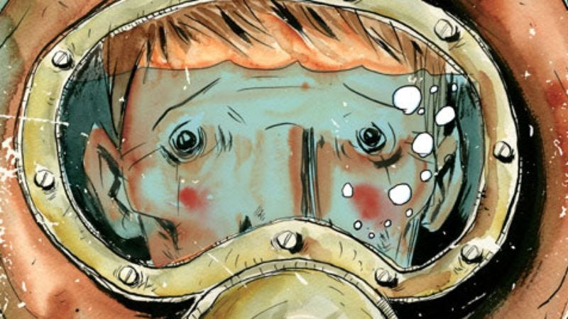 Illustration for article titled Complicated Jeff Lemire, Ed Piskor tales round out August's art comics
