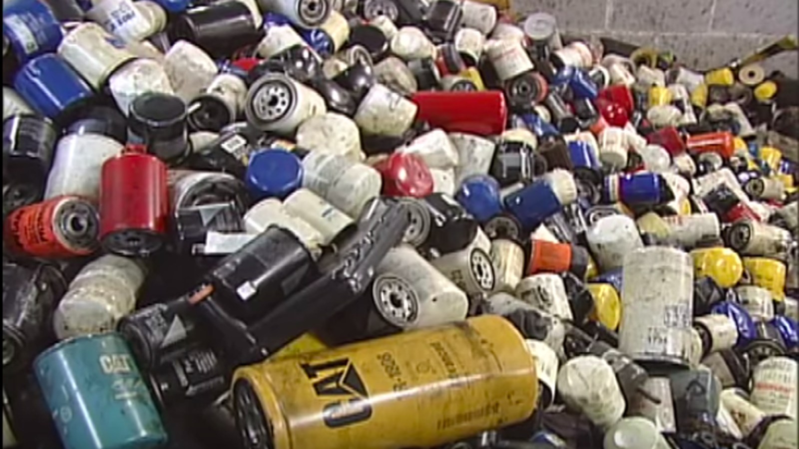 Here 39 s what happens to your used oil filters for Motor oil recycling center