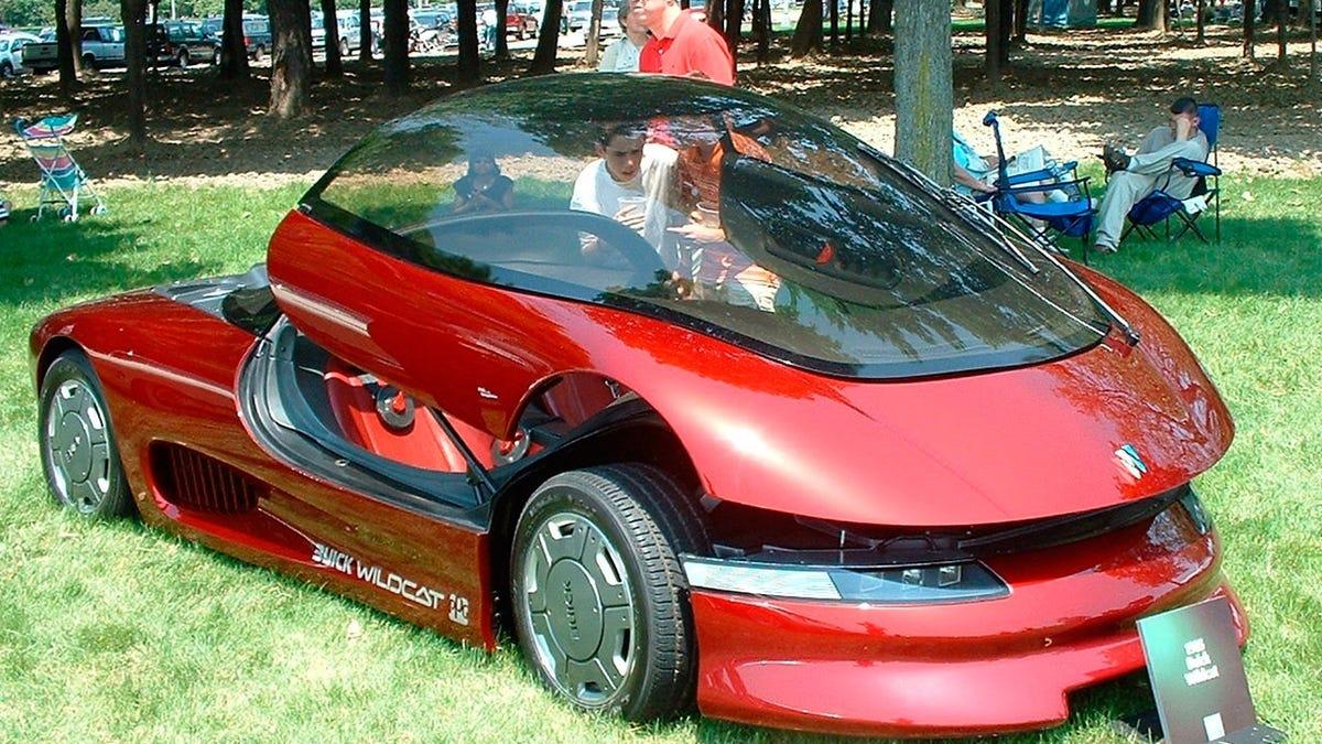 Buick wildcat concept 1985