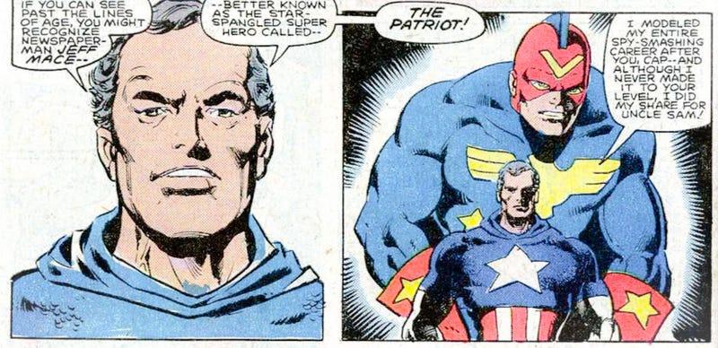 Jeff Mace sebagai Captain America