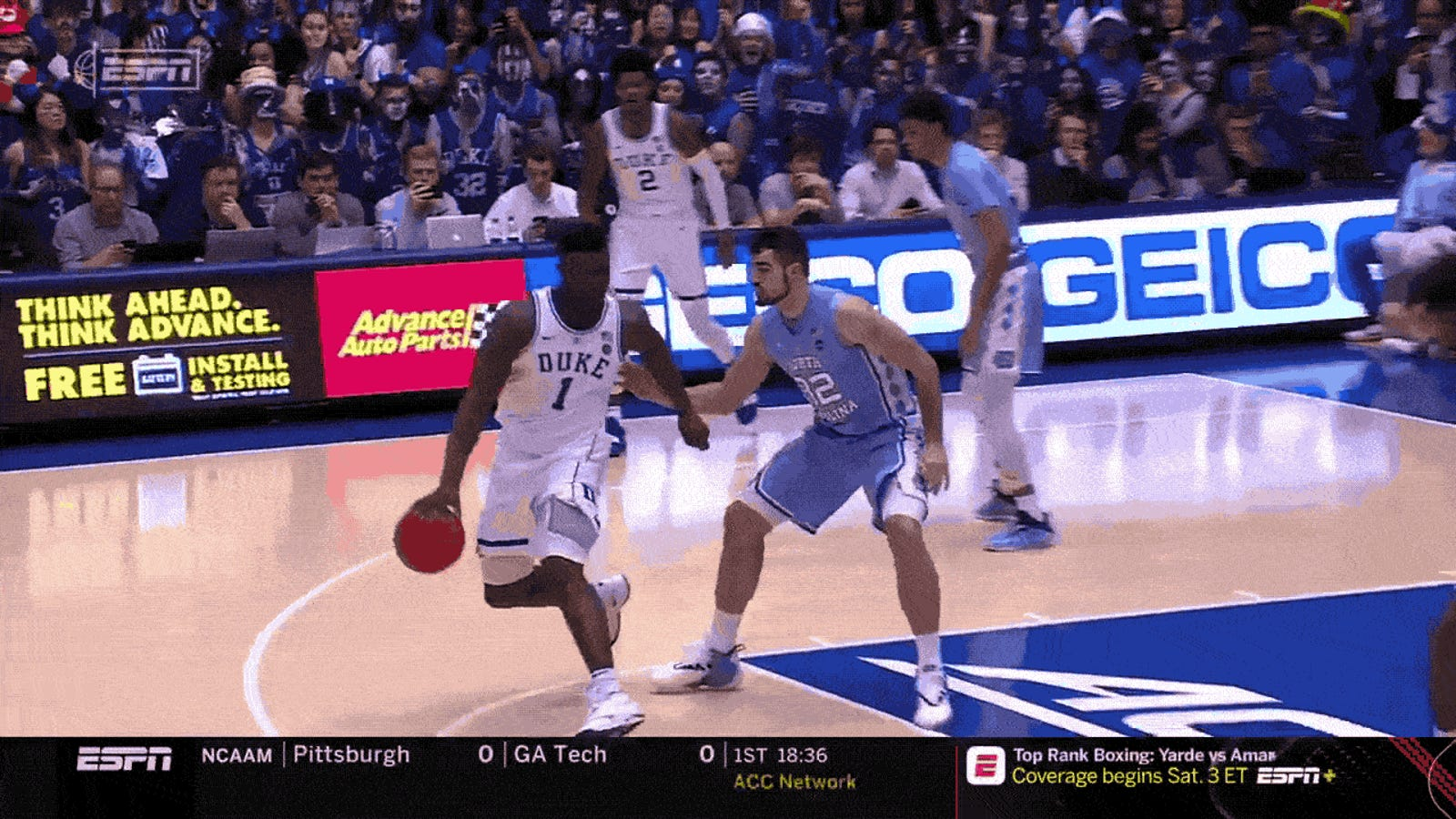 Zion Williamson Wrecked His Shoe And Also Maybe His Leg [Update]