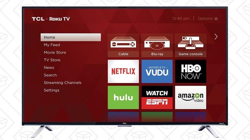 """TCL 55"""" 4K TV, $430"""