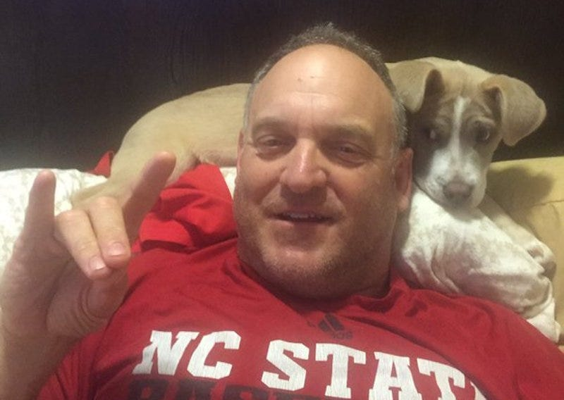 Illustration for article titled N.C. State Baseball Coach Avenges Himself Upon Snake That Bit His Puppy