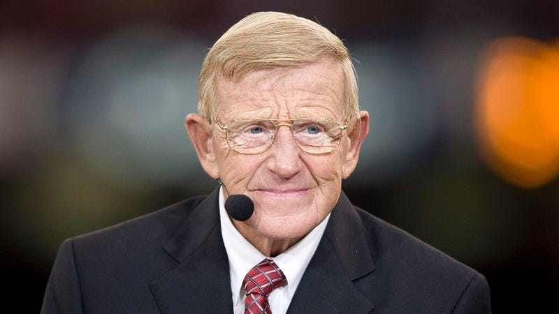 Illustration for article titled Nobody Can Quite Make Out If Lou Holtz Just Went On An Anti-Muslim Rant On ESPN