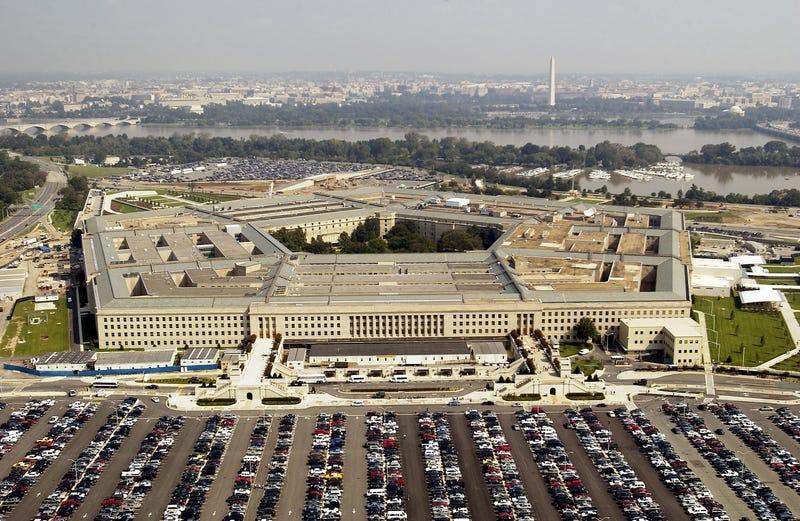 Aerial photo of the Pentagon in Arlington, Virgina on September 26, 2003.
