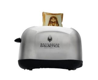Illustration for article titled Battlestar Galactica Toaster Brands Your Bread With a Cylon