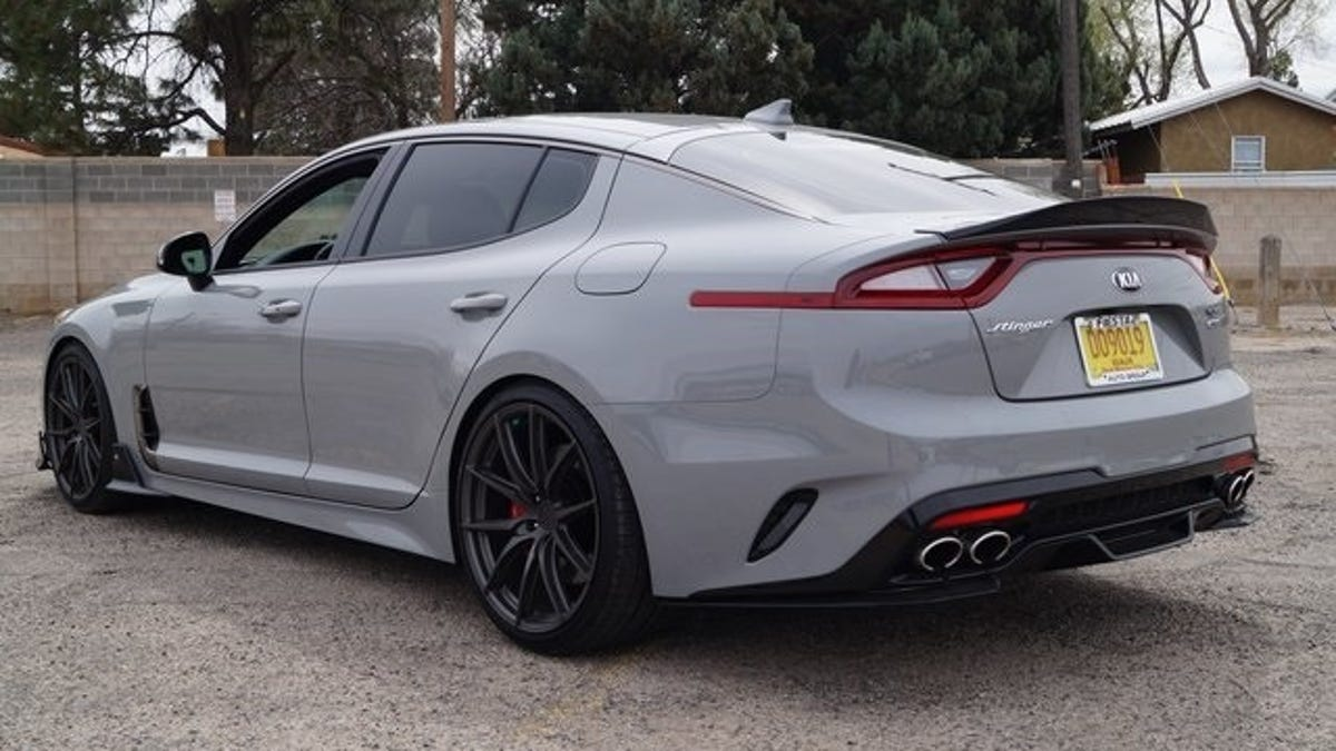 This $68,000 Kia Stinger is a Surface-to-Air Dealer Custom