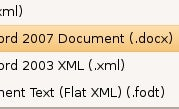 Illustration for article titled Open Office 2007 Documents in OpenOffice with OpenXML Translator