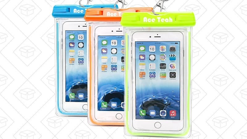 Three Smartphone Dry Bags, $10 with code QDVEDQM7   Four Smartphone Dry Bags, $13 with code L7KAVLES