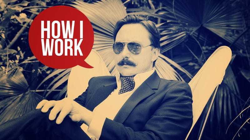 Illustration for article titled I'm John Hodgman, and This Is How I Work